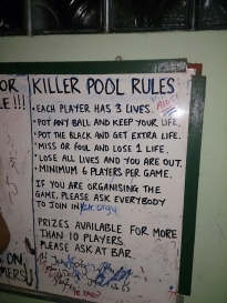 Laos Killer Pool
